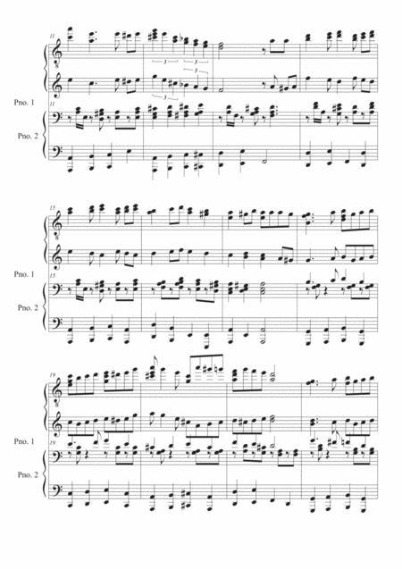 03 quatre mains carrousel sheet music pdf download - sheetmusicdbs.com  download sheet music and notes in pdf format