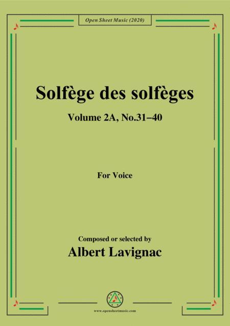 lavignac solfge des solfges volume 2a no 31 40 for voice sheet music pdf  download - sheetmusicdbs.com  download sheet music and notes in pdf format