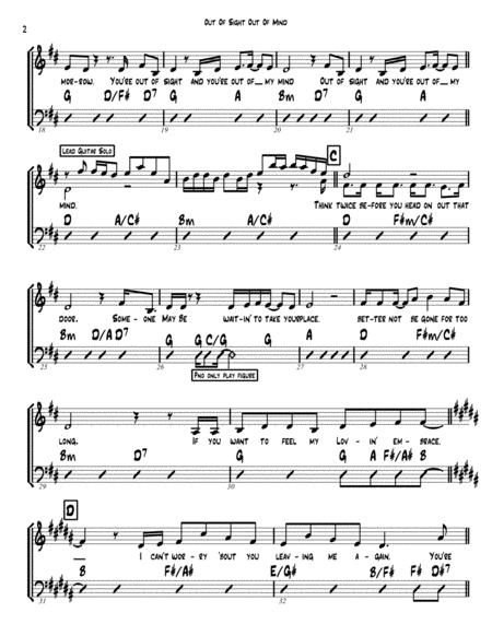 out of sight out of mind sheet music pdf download - sheetmusicdbs.com  download sheet music and notes in pdf format