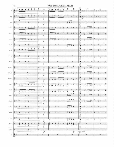not so sousa march sheet music pdf download - sheetmusicdbs.com  download sheet music and notes in pdf format