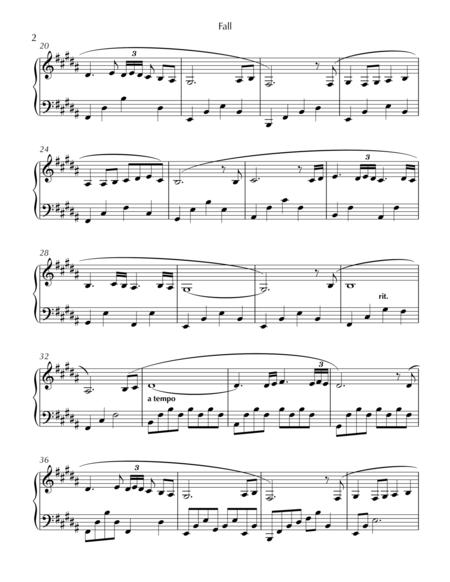 fall sheet music pdf download - sheetmusicdbs.com  download sheet music and notes in pdf format