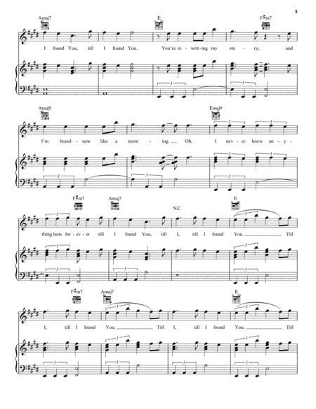 till i found you sheet music pdf download - sheetmusicdbs.com  download sheet music and notes in pdf format
