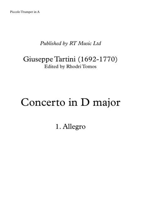 tartini trumpet concerto in d major d53 solo parts sheet music pdf download  - sheetmusicdbs.com  download sheet music and notes in pdf format