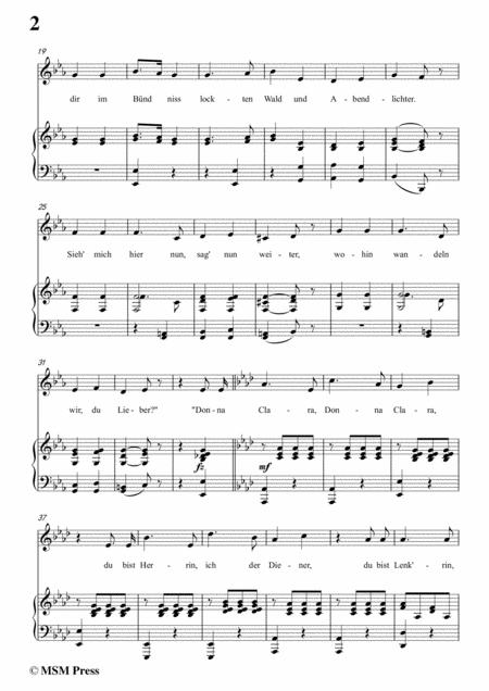 schubert don gayseros i in e flat major d 93 no 1 for voice and piano sheet  music pdf download - sheetmusicdbs.com  download sheet music and notes in pdf format