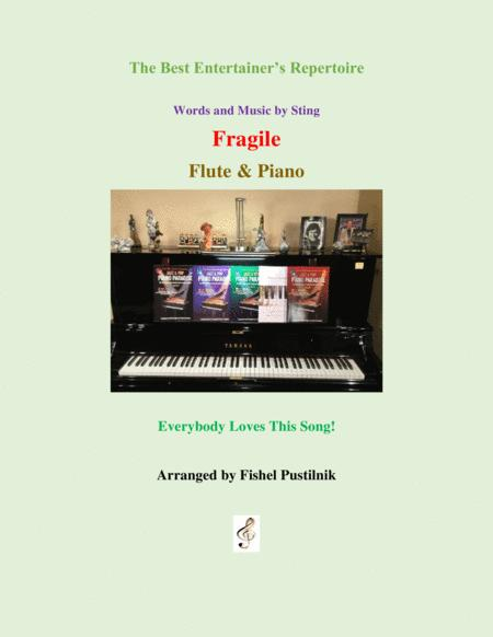 fragile for flute and piano jazz pop version with improvisation sheet music  pdf download - sheetmusicdbs.com  download sheet music and notes in pdf format