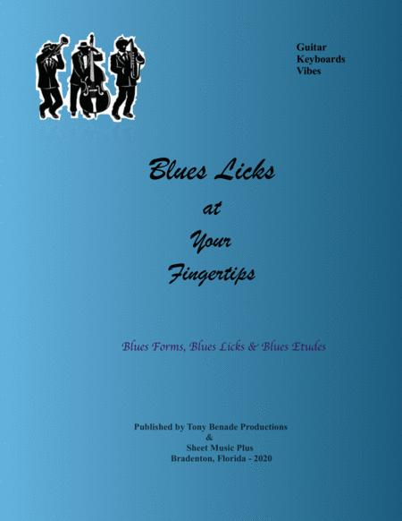 blues licks at your fingertips for guitar keyboards and vibes sheet music  pdf download - sheetmusicdbs.com  download sheet music and notes in pdf format