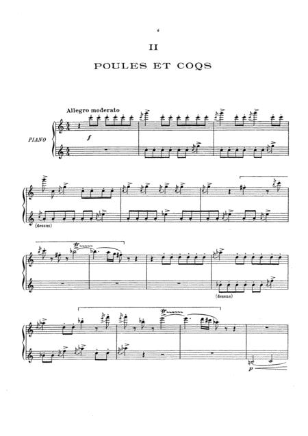 c saint saens carnival of the animals full original complete version piano  solo sheet music pdf download - sheetmusicdbs.com  download sheet music and notes in pdf format