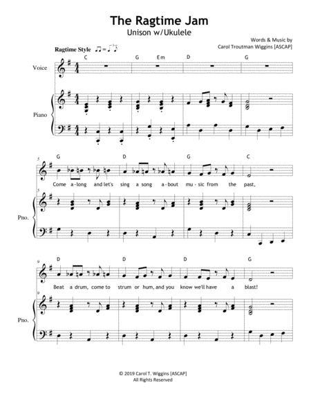 the ragtime jam sheet music pdf download - sheetmusicdbs.com  download sheet music and notes in pdf format