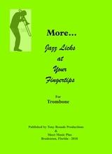 more jazz licks at your fingertips for tenor saxophone sheet music pdf  download - sheetmusicdbs.com  download sheet music and notes in pdf format