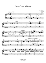 sweet potato strut for easy piano sheet music pdf download -  sheetmusicdbs.com  download sheet music and notes in pdf format