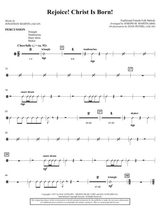 rejoice christ is born trombone sheet music pdf download - sheetmusicdbs.com  download sheet music and notes in pdf format